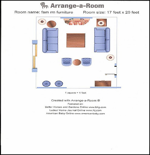 arrange furniture floor plan